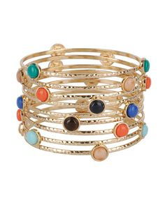Color Pop Bangles. Mint and Nude today!