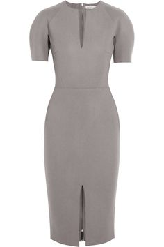Victoria Beckham | Felted wool-blend dress | NET-A-PORTER.COM