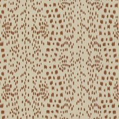 Brunschwig and Fils 8012138 16 Les Touches Tan Asian Printed Multipurpose Fabric