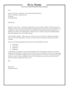 Writing A Good Cover Letter  Tips For Writing  Structuring