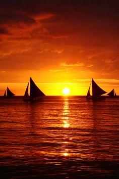 Boracay Sunset, Philippines