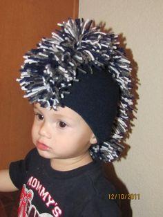 81f0a4f8b Dallas Cowboy s Baby Mohawk Hat by ferrellmom on Etsy