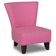 Exceptional Totally Tween Armless Chair   Cosmo Candy Pink With Pebbles Accents    3075CCPPEB