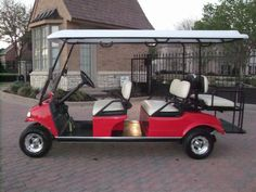 Big Golf carts need strong batteries, Use the Top-selling brand #VmaxTanks mobility series.  Visit #Bargainshore.com for BIG savings!