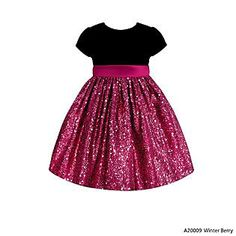 American Princess- -Toddler Girl's Sequins Party Dress $24.00