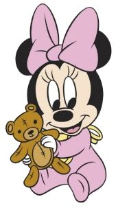 Baby Minnie w/Bear