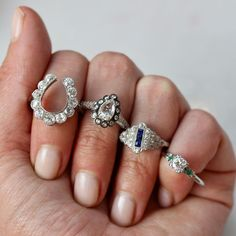 white gold diamond rings