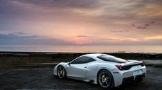 Ferrari 458 Side View