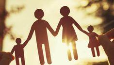 家族の切り絵