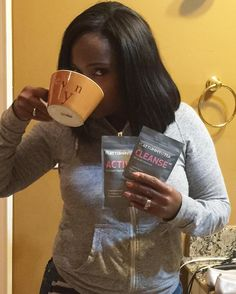 Your body isnt made to feel down and exhausted even after a long days work!! One week Into @flattummytea and my body is feeling better I get up feeling all types of energy wanting to conquer the world!!!! #FlatTummyTea by dr_heavenly