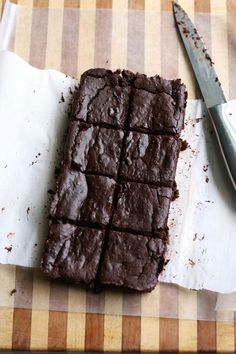 These Black Bean Brownies are full of protein.