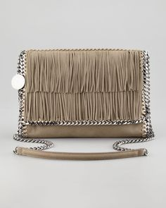 44e23dc44a Stella McCartney Falabella Fringe Crossbody Bag Stella Mccartney Handbags