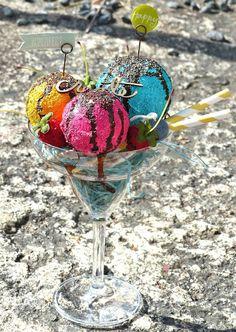 jehkotar: Mixed Media Ice Cream on last summer!