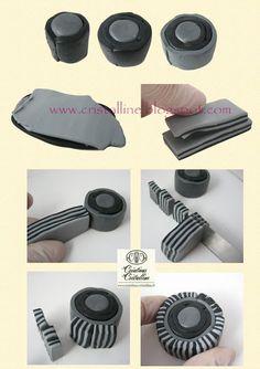 Fimo Cristalline, tuto et bijoux en polymère: juin 2012