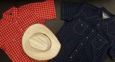En prévision du beau temps, voici des chemises pour hommes disponibles en magasin. Voici, Panama Hat, Cowboy Hats, Fashion, Western Wear, Store, Chemises, Men, Moda
