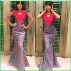The collection of Beautiful Ankara Pattern Styles For Ladies you've ever wanted to see. Want to style and pattern your African print ankara African Inspired Fashion, African Print Fashion, Africa Fashion, African Attire, African Wear, African Women, African Style, African Outfits, Unique Ankara Styles