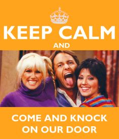 """Best show, Three's Company, """"Come and knock on our door, we've been waiting for you"""". Company Quotes, Three's Company, Old Tv Shows, Movies And Tv Shows, John Ritter, Tv Times, Me Tv, Classic Tv, Favorite Tv Shows"""