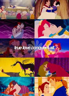 true love conquers all.in a disney movie. Disney And Dreamworks, Disney Pixar, Disney Characters, Arte Disney, Disney Magic, Disney Dream, Disney Love, Sad Disney, Punk Disney