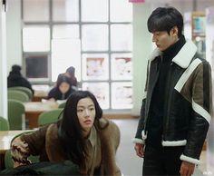 15416009_120300001090172309_80456257_n.gif?oh=7376a0866cf27854aac08fabea70977f&oe=5851214A Legend Of The Blue Sea Kdrama, Legend Of Blue Sea, Lee Minh Ho, Lee Min Ho Kdrama, Good Morning Call, Drama 2016, Jun Ji Hyun, Suspicious Partner, Weightlifting Fairy Kim Bok Joo