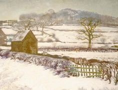 Snow scene, Shottle, Derbyshire Winter Landscape, Landscape Art, Jane Austen, Christina Rossetti, Complicated Love, Christmas Is Over, Christmas Calendar, Snow Scenes, Derbyshire