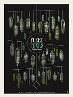 Fleet Foxes by Methane Studios