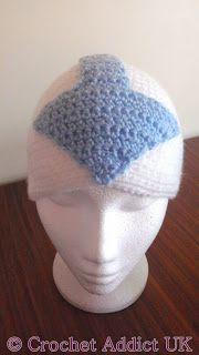 Free Aang Crochet Hat Pattern ~ Crochet Addict UK