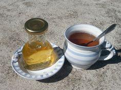 Jak připravit domácí mátový sirup | Prima nápady Mason Jars, Smoothie, Health Fitness, Pudding, Tableware, Kitchen, Desserts, Food, Fresh