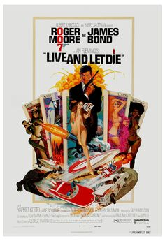 Live and Let Die (1973) is the eighthspy film in theJames Bond series to be produced byEon Productions, and the first to starRoger Moore as thefictional MI6 agentJames Bond. Produced byAlbert R. Broccoli andHarry Saltzman, it was the third of four Bond films to be directed byGuy Hamilton. | eBay!