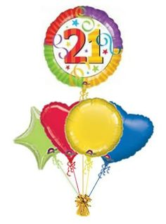 21st Perfection 30th Birthday Balloons Balloon Delivery Love Fathers