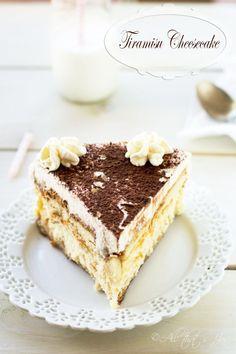 Tiramisu Cheesecake - All that's Jas