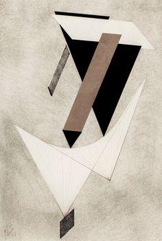 El Lissitzky Proun III, 1923