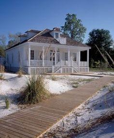 beach cottage by madeleine