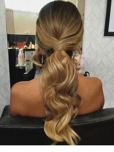 Fetching Hairstyles for Straight Hair to Sport This Season Wavy Ponytail ., 35 Fetching Hairstyles for Straight Hair to Sport This Season Wavy Ponytail ., 35 Fetching Hairstyles for Straight Hair to Sport This Season Wavy Ponytail . Messy Ponytail Hairstyles, Formal Hairstyles For Long Hair, Wavy Ponytail, Long Ponytails, Diy Hairstyles, Wedding Hairstyles, Hairstyle Ideas, Bridesmaid Hair Ponytail, Straight Hairstyles Prom