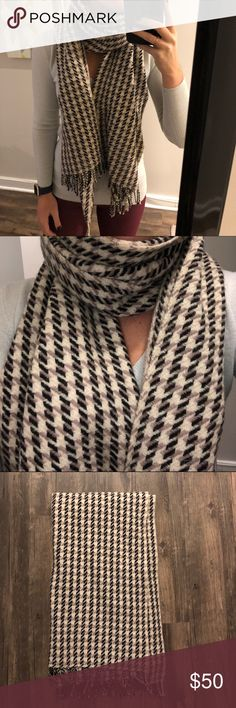 J. Crew 100% Wool Scarf No flaws. Perfect Condition J. Crew Accessories Scarves & Wraps