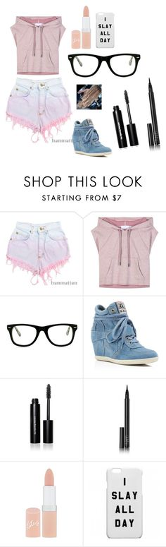 """Sans titre #41"" by katou22 ❤ liked on Polyvore featuring Levi's, adidas, Muse, Ash, Bobbi Brown Cosmetics, NARS Cosmetics and Rimmel"