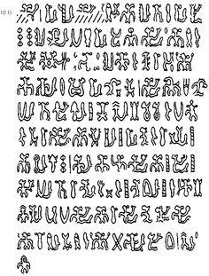 Rongorongo, ancient language of Easter Island