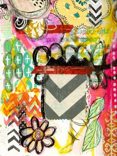 """Every Life Has a Story!"" - {Roben-Marie Smith} - Art Journal Collaboration..."
