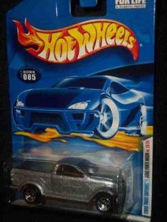2000 First Editions -#25 Dodge Power Wagon 2000 Card #2000-85 Collectible Collector Car Mattel Hot Wheels 1:64 Scale