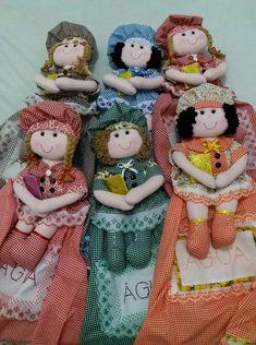 Sewing Ideas, Teddy Bear, Toys, Bag Holders, Kitchen Kit, Bottle Art, Kitchen Things, Fabric Crafts, Handmade Dolls