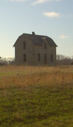 Native limestone house Hwy 77 Randolph,Ks.