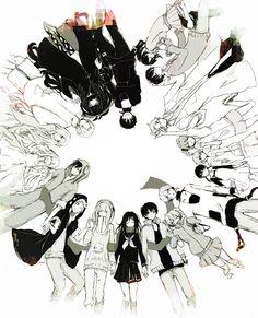 I see what you did. Seto and Mary. Shintaro and Ayano. Kano and Kido. Takane and Haruka. Ene and Konoha.