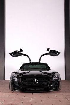 What a set of doors! #Mercedes #SLS #AMG