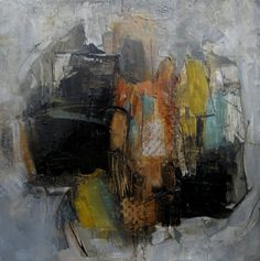 ORIGINAL Abstract Painting Art Oil  ABSTRACT by colettedavis