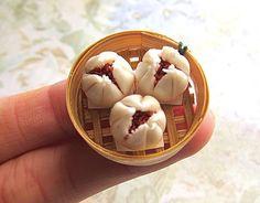 Miniature faux food