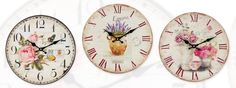 A wonderful wall #clock collection! see more #wall #clocks at http://www.inart.com/en/products/clocks