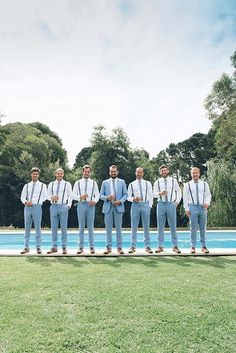 13 Grooms and Groomsmen With Dapper Wedding Style // Photography by Eliza Harrison Photography wedding groom attire Wedding Style For Grooms & Groomsmen Groomsmen Attire Beach Wedding, Groomsmen Outfits, Groom And Groomsmen Attire, Blue Groomsmen Suits, Wedding Men, Wedding Suits, Wedding Styles, Wedding Photos, Gothic Wedding