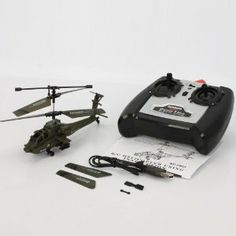 U803 Mini 3.5 Channel Remote Control Helicopter (With Gyroscope) Army Green by Crazy Cart. $26.99. Features: 1. New and high quality 2. Suitable for children of 14 years old & up 3. You can use USB cable to charge the helicopter 4. Hovering up and down 5. Flying forwards and backwards, turn left and right 6. Turn counter clockwise and clockwise 7. With Gyroscope inside  Specifications: 1. Model: U803 2. Channel: 3.5 3. Control Mode: Infra-Red Remote Control 4. Remote...
