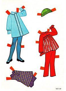 Paper Dolls: Jo  Kenosha: Samuel Lowe 1965