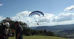 Salto de Parapente em Rio do Sul - SC