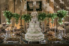 Bolo tradicional  - Casamento Clássico